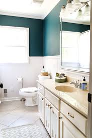 teal painted bathroom makeover bless u0027er house