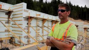 insulated concrete forms vs plywood youtube