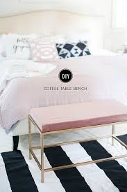 bedroom benches ikea how to turn an ikea coffee table into the bedroom bench of your