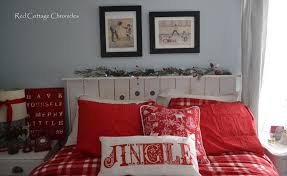 our christmas bedroom red cottage chronicles