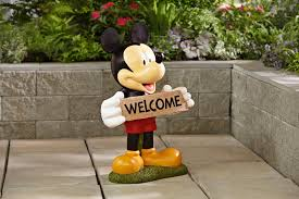 Mickey Mouse Lawn Chair by Mickey Mouse Garden Decor Home Outdoor Decoration
