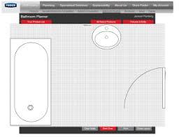 free bathroom design tool bathroom layout tool free home design