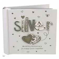 silver anniversary gifts anniversary cards silver wedding anniversary card husband lovely