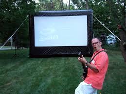 hazlet outdoor movies open air cinema backyard theater