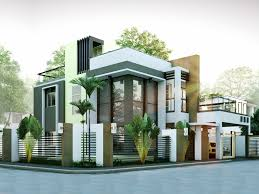 2 Story Modern House Plans Modern House Designs Series Mhd 2014010 Pinoy Eplans Modern