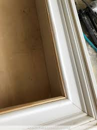 how to build an easy diy custom frame for a wall mounted tv u2013 part 1
