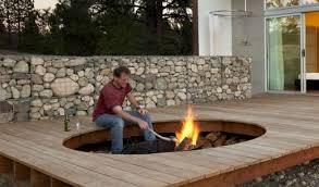 Fire Pit Kit Stone by Popular Brick Fire Pit Kit Uk Garden Landscape