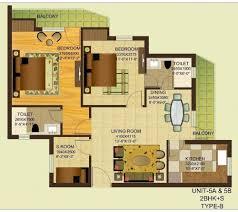 how big is 800 sq ft square foot floor plans plan gardenia gitanjali in maharaja