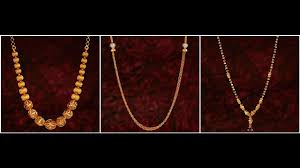chain necklace gold designs images 22 carat gold chains khazana jewellery designs jpg