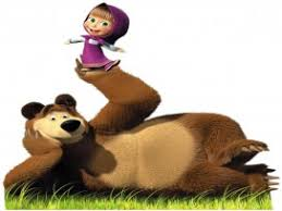 masha u0026 bear cartoons wallpapers