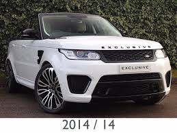 land rover svr white used land rover range rover sport suv in birmingham exclusive