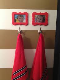 orange bathroom photos hgtv accents brighten up a contemporary
