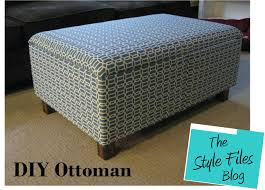 Diy Storage Coffee Table by Storage Ottoman Coffee Table Diy Home Decorating Round Thippo