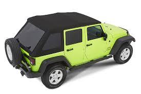 jeep soft top open bestop 54923 35 trektop nx glide softop in black diamond for 07