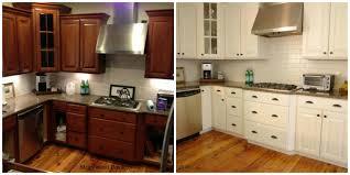 Spraying Kitchen Cabinets White Paint Cabinets White Kitchen Kitchen Backsplash Ideas Black