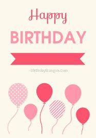 printable free birthday cards 6 best birthday resource gallery