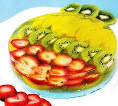 gelatina de frutas con leche de mora azul gelatin gelatinas