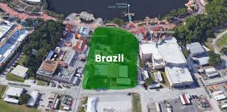 Disney World Google Map by Brazil Likely To Be Latest Country Added To World Showcase At
