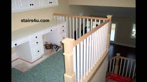 paint grade stair handrailing stairway construction ideas youtube