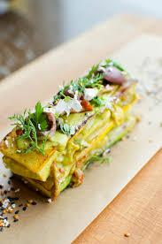 Restaurant Esszimmer Salzburg Gault Millau Zucchini Hühnchen Sandwich Mit Oliven Kapern Und Tomaten Essen
