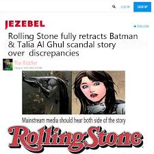rolling stone s batman rape story batman know your meme