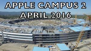 New Apple Headquarters Apple Campus 2 April 2016 Construction Update 4k Youtube