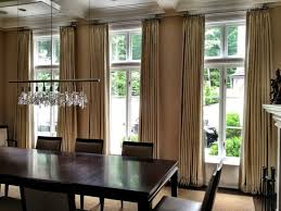 modern dining room curtains modern dining room design and elegant