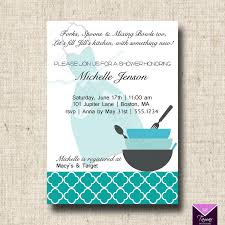 Kitchen Bridal Shower Invitations U2013 Gangcraft Net