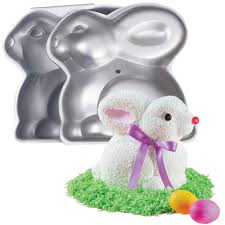 bunny cake mold 3 d bunny pan wilton
