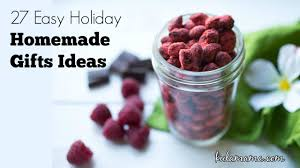 Christmas Homemade Gifts by Easy Holiday Homemade Gifts Ideas Kula Mama
