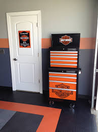 harley home decor garage wall decorating ideas room design ideas