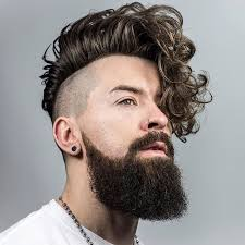 trendy haircut men long fringe hairstyle picture magz