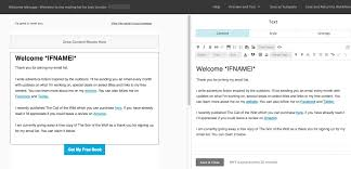 Automated Email Response Template by How To Set Up An Automated Welcome Email With Mailchimp U2013 Written
