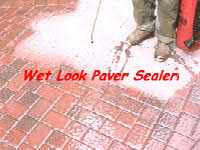 how to strip a failed brick paver sealer that has turned white