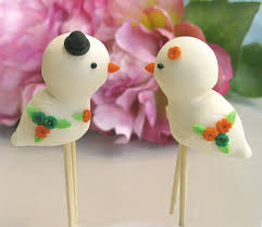 cute love birds wedding cake toppers personalized detail u2026 flickr