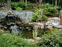 simple garden waterfall features 53 concerning remodel home decor