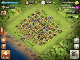 coc layout builder th8 my hybrid th8 base