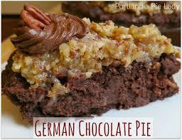 german chocolate pie portlandia pie lady