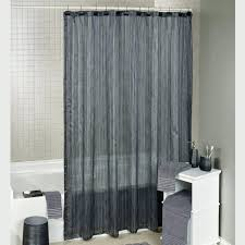 Brown And Green Curtains Designs Wallace Blue And Brown Striped Fabric Shower Curtain