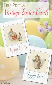 free easter cards free printable vintage easter cards just in time for easter the