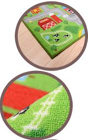 Kids City Rug by City Road Carpets For Children Rug Puzzle Play Mat Kids Toys Rug