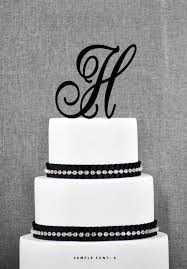 wedding cake toppers letters best 25 monogram cake toppers ideas on glitz and glam