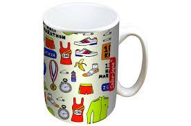 Mug Designer Jayne Running Mug And Coaster Gift Set
