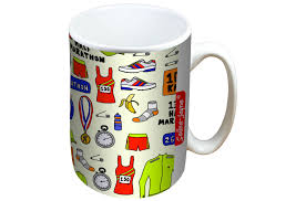 jayne running mug and coaster gift set