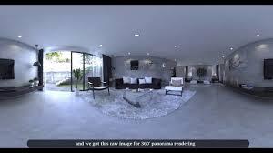 360 render setting in vray sketchup 360 panorama rendering