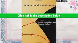 free download lectures on macroeconomics mit press olivier