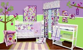 Lime Green And Purple Bedroom - purple and green baby bedding set u2022 bedding decor ideas