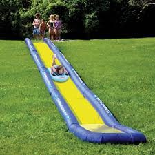 world u0027s longest backyard water slide creates the wave of the