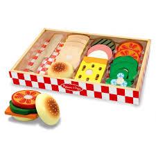jeux de cuisine de sandwich ensemble de préparation de sandwiches jouets enfants cpe