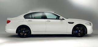 matte white bmw 328i look at frozen blue f10 m5 m performance edition